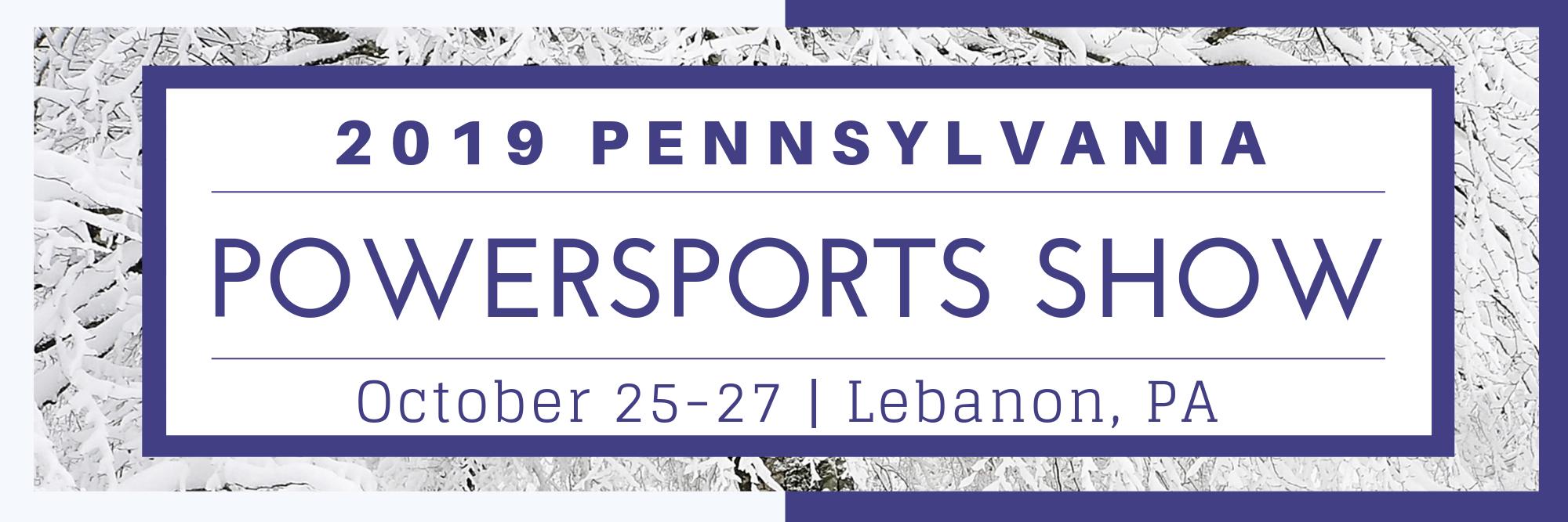 PA Powersports Show 2019 - PA State Snowmobile Association